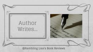 Author writes